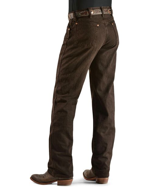 Wrangler Jeans - 13MWZ Original Fit Prewashed Colors, Chocolate, hi-res