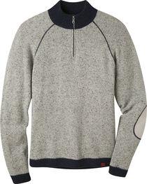 Mountain Khakis Men's Lunar Grey Fleck Quarter Zip Sweater  , Grey, hi-res