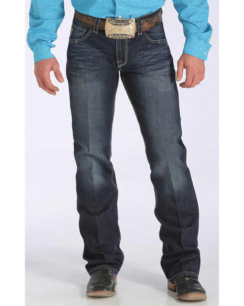 Cinch Men's Carter 2.2 Relaxed Boot Cut Jeans, Dark Stone, hi-res
