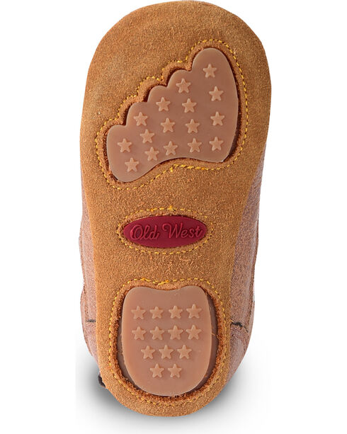 Lil' Boot Barn Infant Girls' Pink Boots - Round Toe, Brown, hi-res