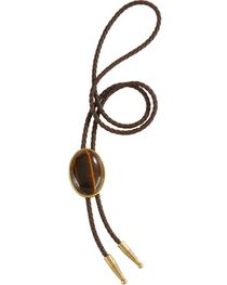 Artificial Tiger Eye Stone Bolo, , hi-res