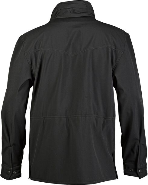 STS Ranchwear Women's Brazos Softshell Black Barn Jacket - Plus - 2XL, Black, hi-res
