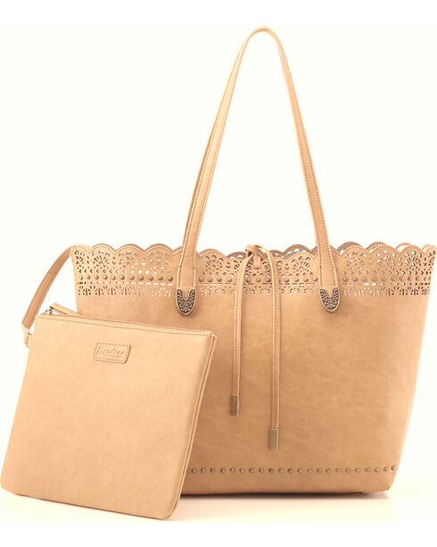 Bandana by American West Women's Darlington Filigree Day Tote, Cream, hi-res