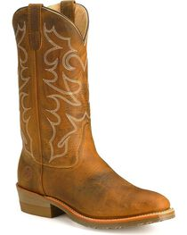 Double-H Men's Folklore Western Work Boots, , hi-res