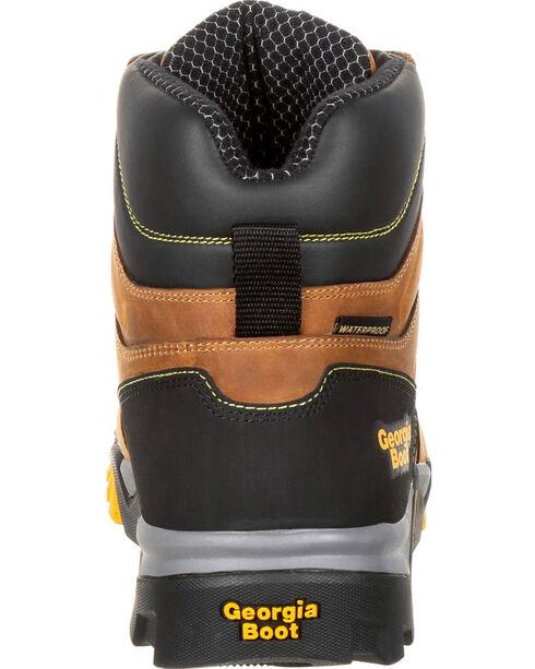 Georgia Boot Men's Amplitude Waterproof Work Boot, Brown, hi-res