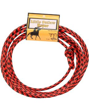 M&F Kid's Little Outlaw Roper Lasso, Black, hi-res