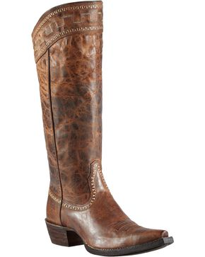 Ariat Women's Sahara Western Boots, Brown, hi-res