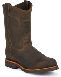 Chippewa Men's Utility Steel Toe Work Boots, , hi-res