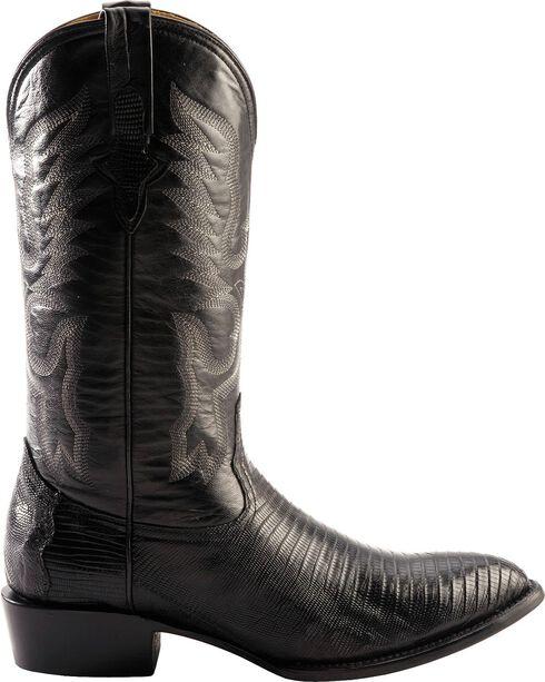 Ferrini Men's Teju Lizard Exotic Western Boots, Black, hi-res