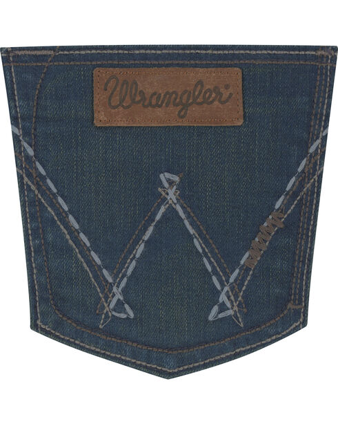 Wrangler Women's Indigo Retro Sadie Low Rise Jeans - Boot Cut , Indigo, hi-res