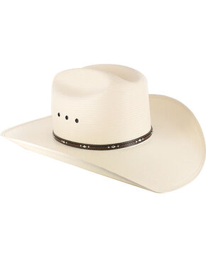 George Strait by Resistol Kingman 10X Straw Hat, Natural, hi-res