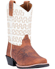 Dan Post Youth Boys' Sammie Western Boots - Square Toe, , hi-res