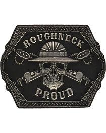 Montana Silversmiths Roughneck Proud Attitude Belt Buckle, , hi-res