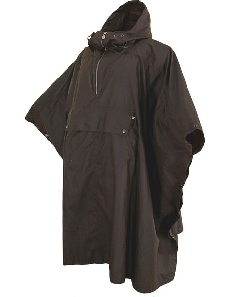 Outback Unisex Packable Poncho, Bronze, hi-res