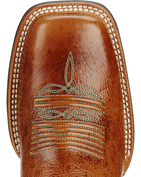 Ariat Calypso Coral Catalyst Prime Cowgirl Boots - Square Toe, Brown, hi-res