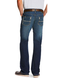 Ariat Men's Blue M5 Cooper Nightfall Stretch Jeans - Straight Leg  , , hi-res