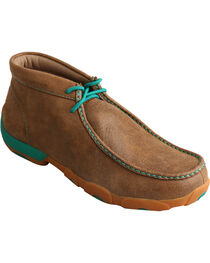Twisted X Men's Lace-Up Driving Moc Casual Shoes, , hi-res