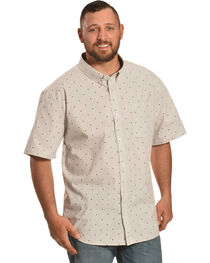 Cody James Men's Palo Alto Diamond Print Short Sleeve Shirt, , hi-res