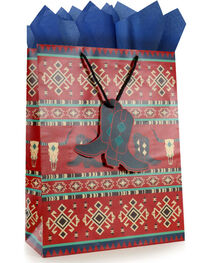 BB Ranch® Southwest Gift Bag with Tissue Paper, , hi-res