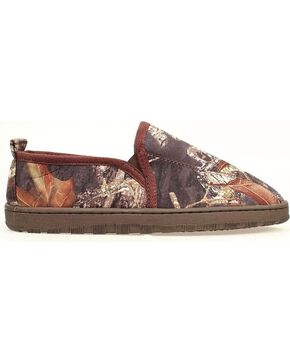 Double Barrel Camouflage Print Slippers, Camouflage, hi-res