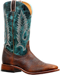 Boulet Men's Embroidered Boots - Square Toe, , hi-res