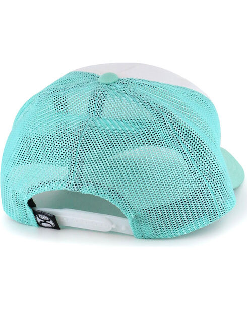HOOey Women's All About the Hustle Ball Cap, Turquoise, hi-res