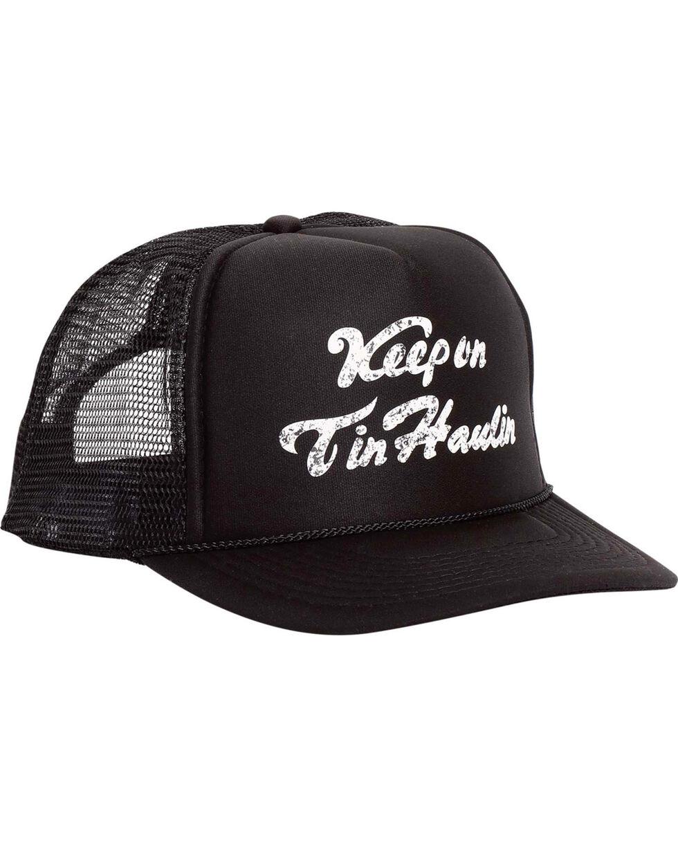 Tin Haul Men's Black Keep On Tin Haulin Cap , Black, hi-res