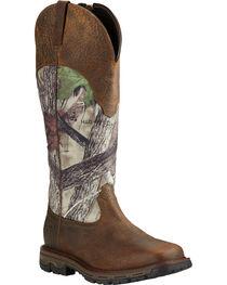 Ariat Men's Conquest Waterproof Snakeproof Boots, , hi-res