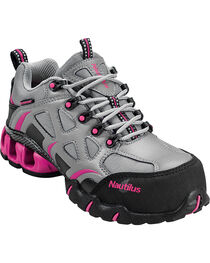 Nautilus Women's Composite Toe EH Waterproof Athletic Work Shoes, , hi-res
