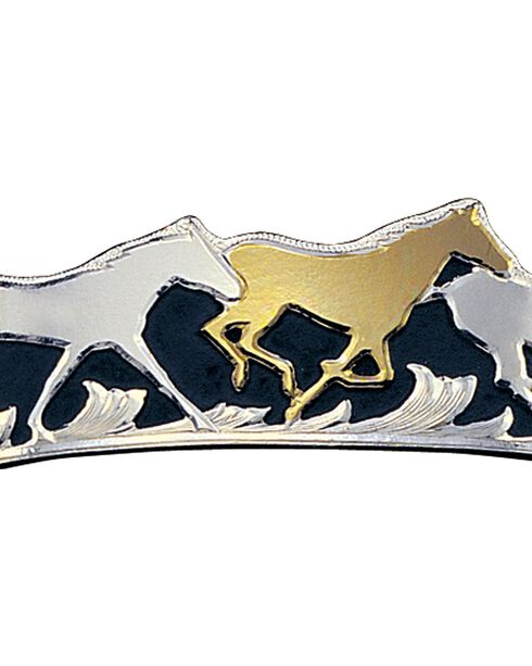 Montana Silversmiths Women's Horse On Different Color Western Bracelet, Multi, hi-res