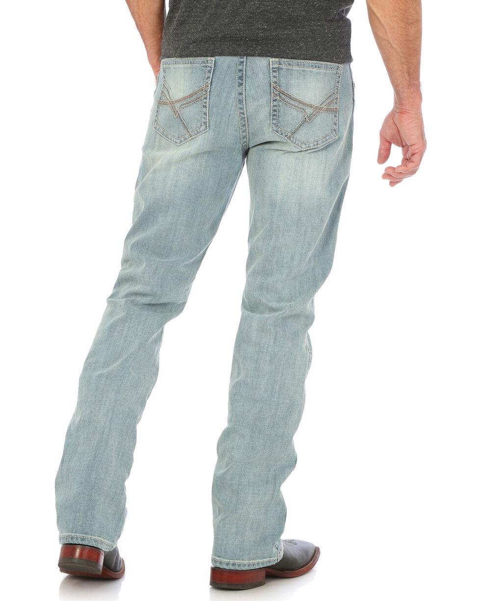 Wrangler Men's Light Blue 20X No. 42 Vintage Jeans - Boot Cut , Light Blue, hi-res