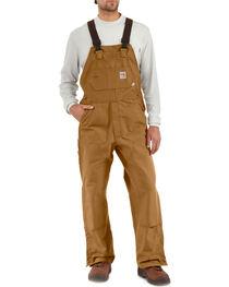 Carhartt Men's Flame-Resistant Duck Bib Overalls, , hi-res