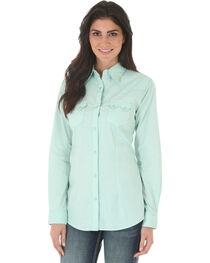 Wrangler Women's Pattern Long Sleeve Shirt, , hi-res