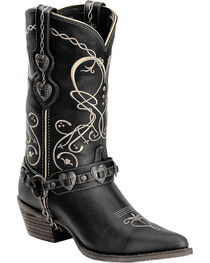 Durango Women's Heart Harness Western Boots - Pointed Toe, , hi-res