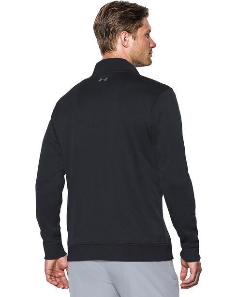 Under Armour Men's Black Storm Sweater Fleece 1/4 Zip Pullover ...