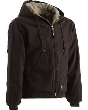 Berne High Country Hooded Jacket - Sherpa Lined - 3XL and 4XL, Dark Brown, hi-res