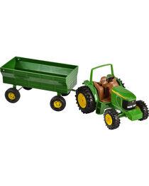 John Deere Toy Tractor & Wagon, , hi-res