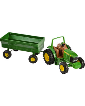 John Deere Toy Tractor & Wagon, Assorted, hi-res