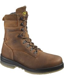 "Wolverine Men's 8"" Durashocks Insulated Waterproof Electrical Hazard Steel Toe W, , hi-res"