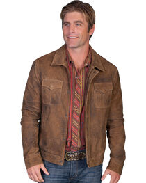 Scully Men's Leather Jacket, , hi-res