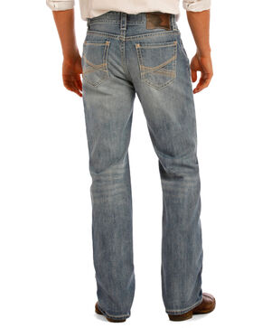 Rock & Roll Cowboy Men's Indigo Double Barrel Jeans - Straight Leg, Indigo, hi-res