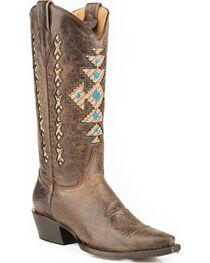 Roper Women's  Native Print Western Boots, , hi-res