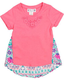 Shyanne® Toddler Floral Back T-Shirt, , hi-res