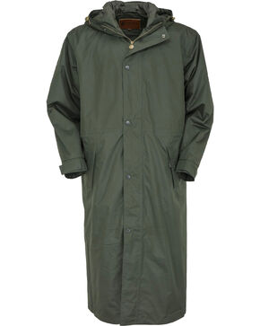 Outback Unisex Pak-A-Roo Duster Jacket, Dark Green, hi-res