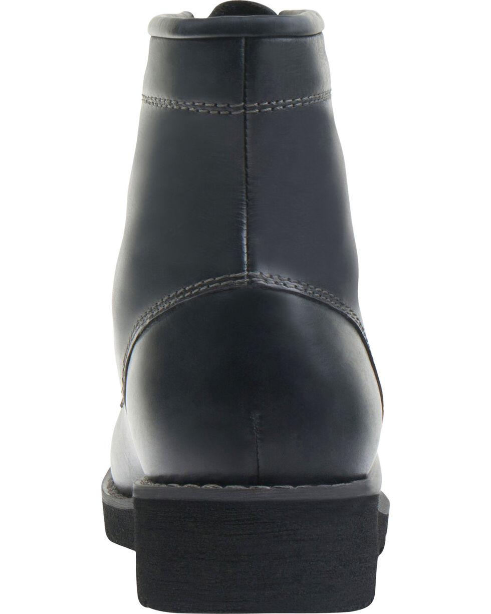 Eastland Women's Black Dakota Lace-Up Boots, Black, hi-res