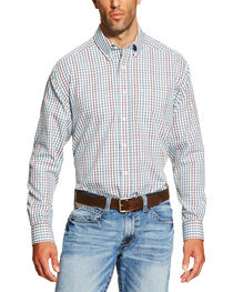 Ariat Men's Hamilton Plaid Long Sleeve Western Shirt , , hi-res