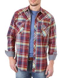 Wrangler Retro Men's Plaid Flannel Shirt, , hi-res