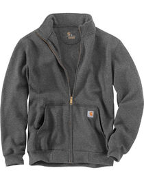 Carhartt Men's Haughton Mock Neck Zip Sweatshirt, , hi-res