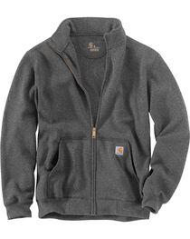 Carhartt Men's Haughton Mock Neck Zip Sweatshirt - Big and Tall, , hi-res