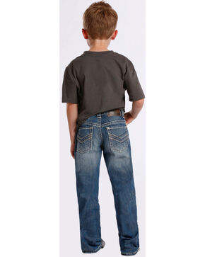 Rock & Roll Cowboy Boy's BB Gun Boot Cut Jeans, Denim, hi-res